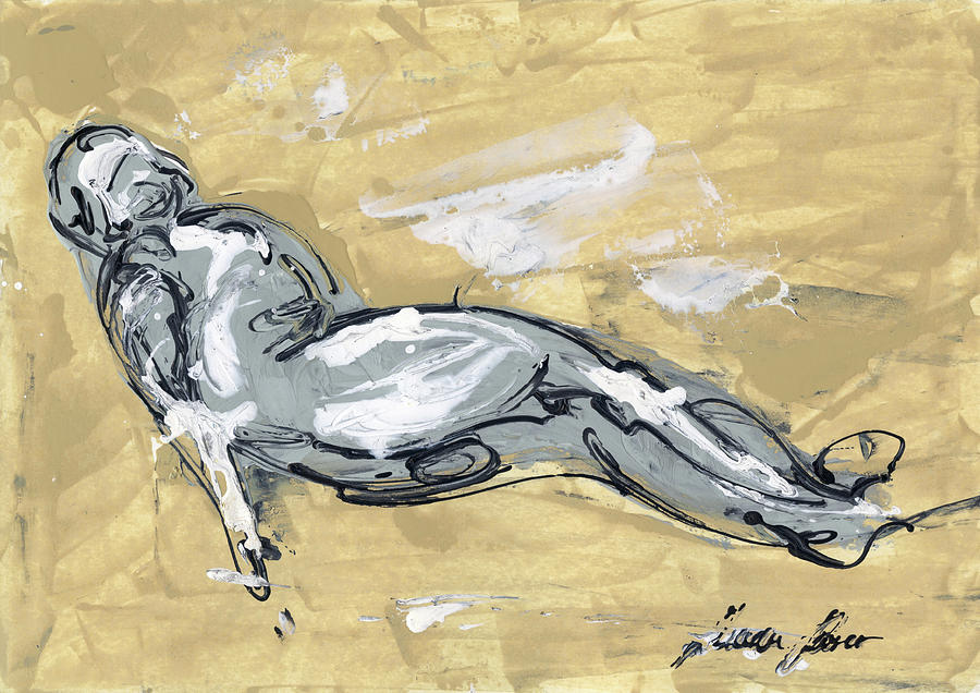 Abstract Nude Painting - Abstract Nude by Juan Bosco