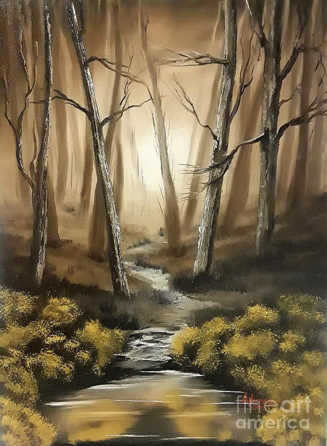 Shadow Stream Forest by Anthony Nunez