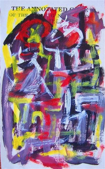 Abstract Painting - Abstract On Paper No. 29 by Michael Henderson