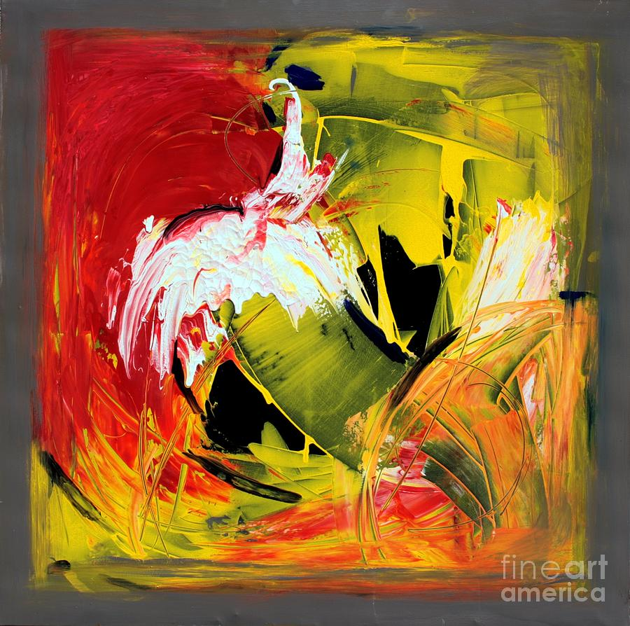 Colorful Painting - Abstract Painting by Mario Zampedroni