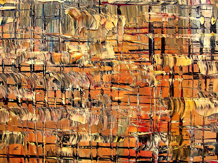 Contemporary Painting - Abstract Part By Rafi Talby by Rafi Talby