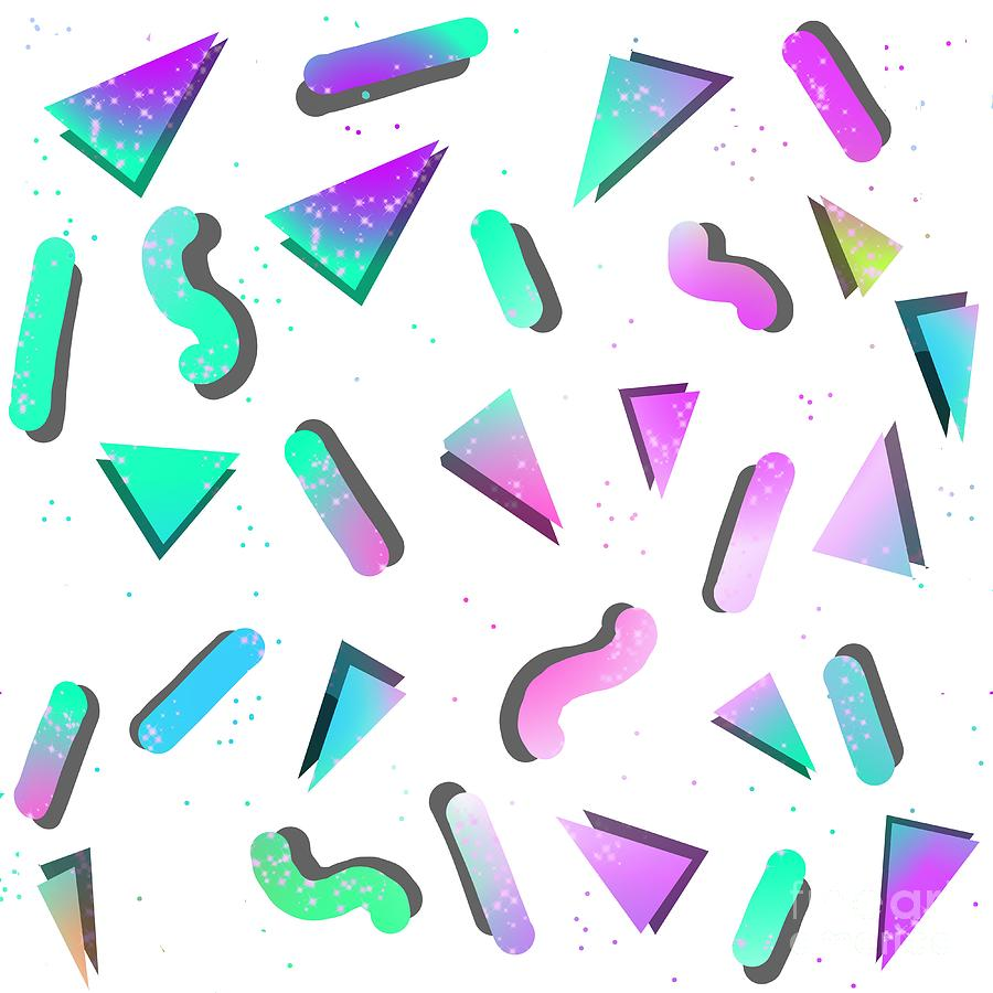 Abstract Pastel Shapes