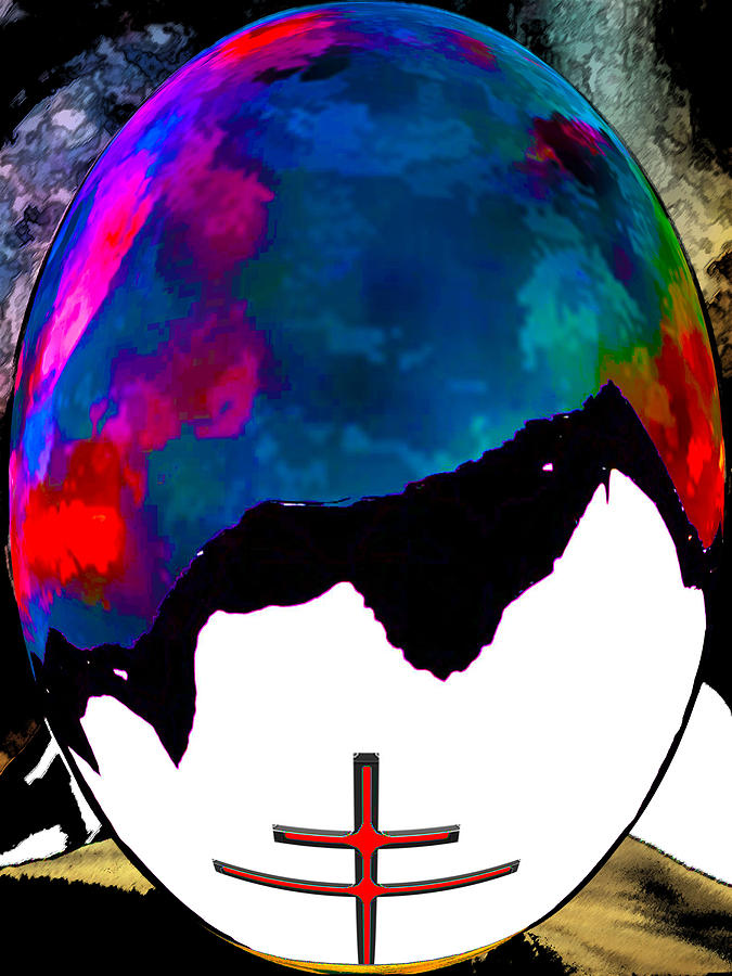 Religions Digital Art - Abstract Religion 2a by Bruce Iorio