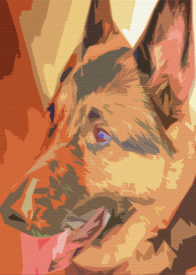 Abstract Riley Profile  by Angel Sharum