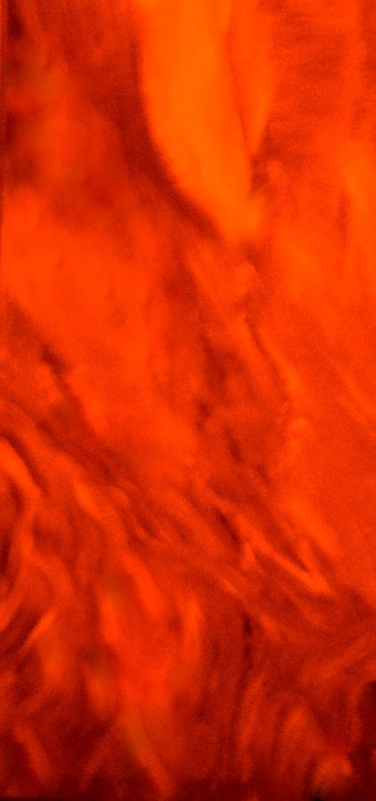 Abstract Painting - Abstract-simply Red by Sherris - Of Palm Springs