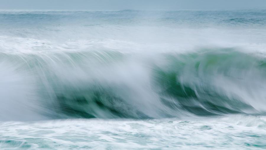 Abstract Photograph - Abstract Soft Waves by Dapixara Art