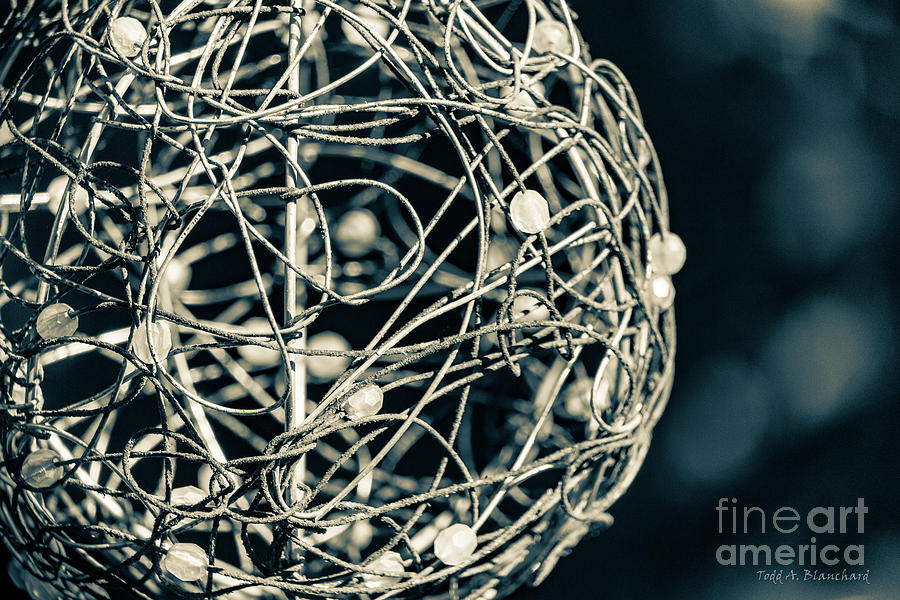 Abstract Sphere by Todd Blanchard