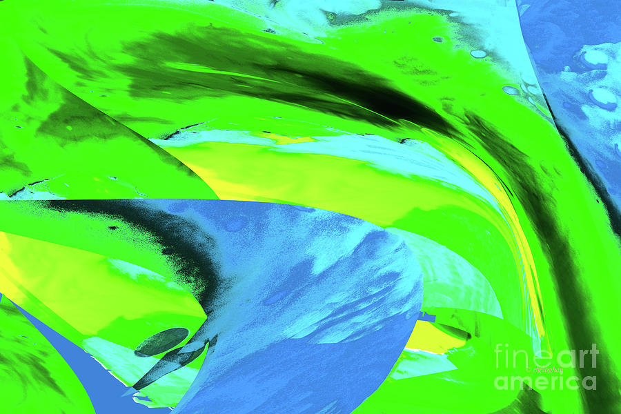 Abstract-spring Breeze Photograph