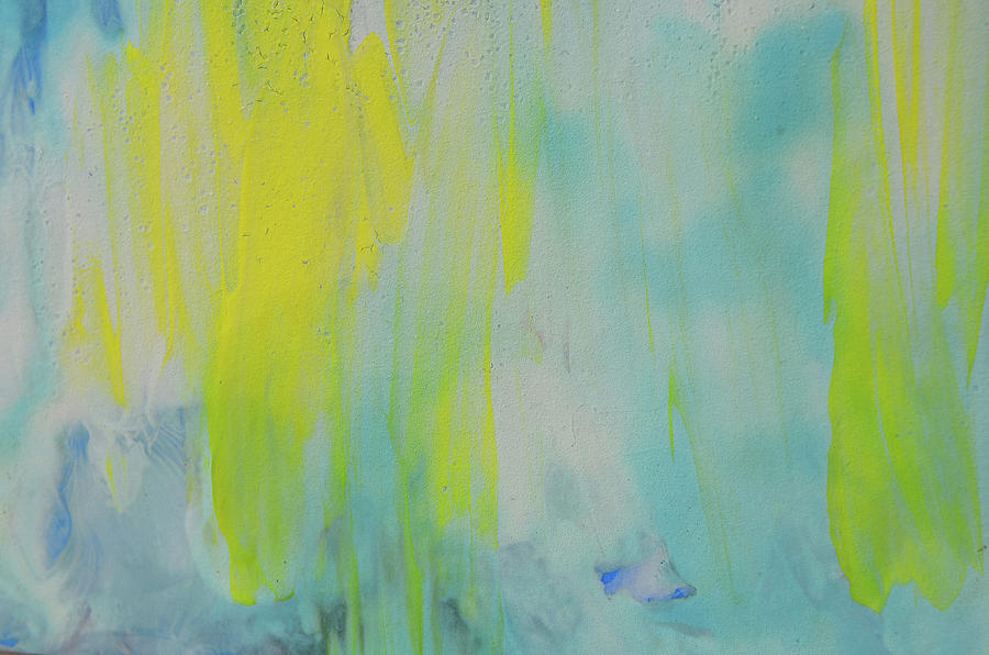 Abstract Texture Background Colorful Watercolor Painting Big Size
