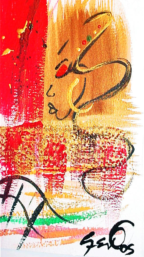 Abstract Painting - Abstract Thoughts  by  Simone Fennell
