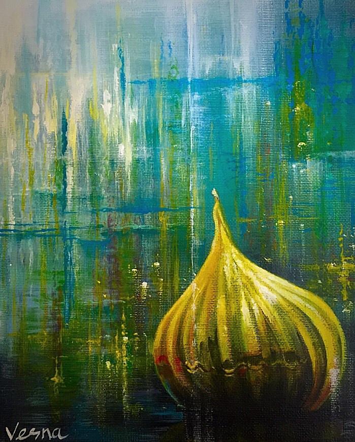 Abstract Painting - Abstract  by Vesna Delevska