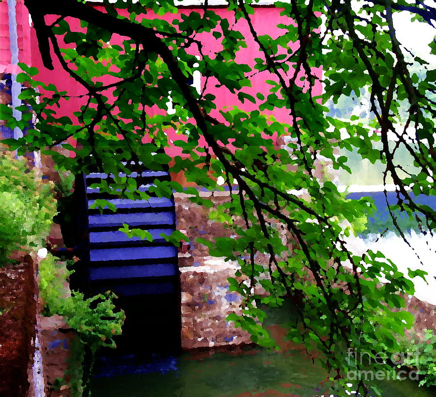 Clinton Nj Photograph - Abstract - Water Wheel by Jacqueline M Lewis