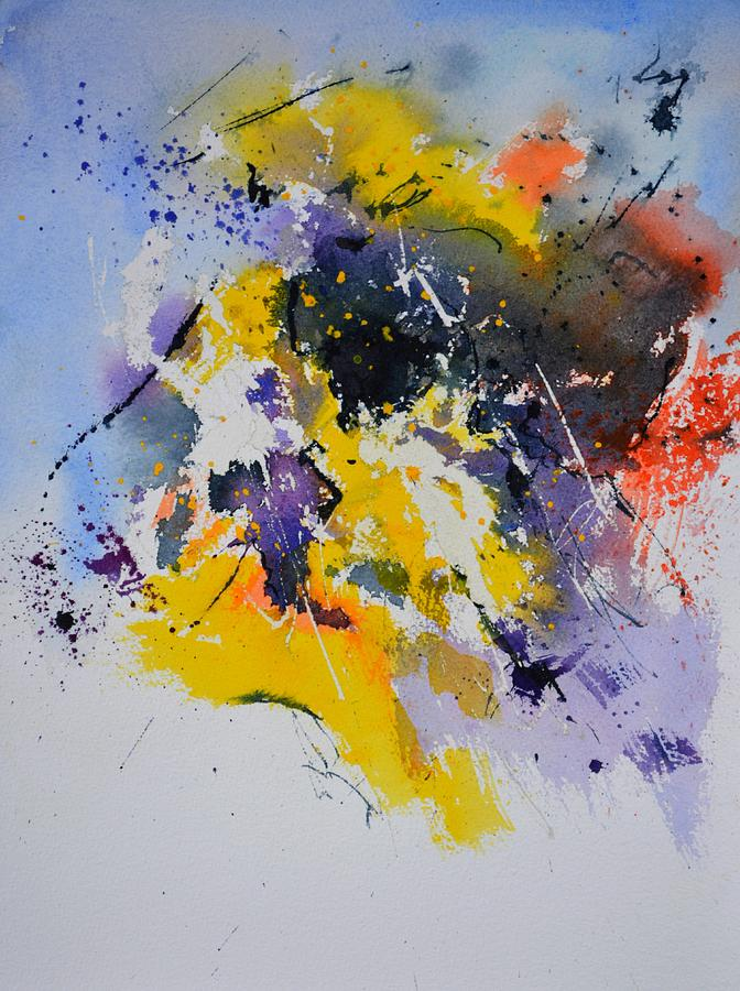 Abstract Watercolor 70075 Painting