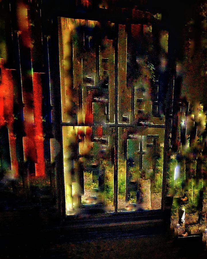 Abstract Window Digital Art by Tom McLellan