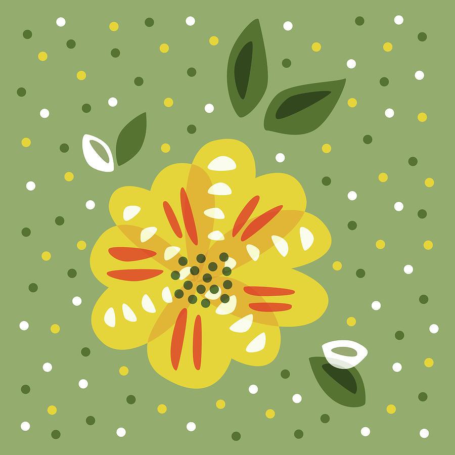 Abstract yellow primrose flower digital art by boriana giormova flower digital art abstract yellow primrose flower by boriana giormova mightylinksfo
