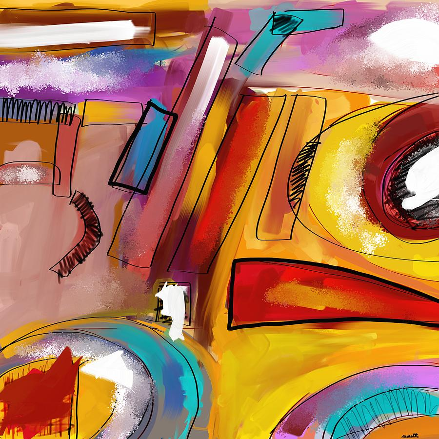 Abstract Digital Art - Abstract2 by Patric Mouth