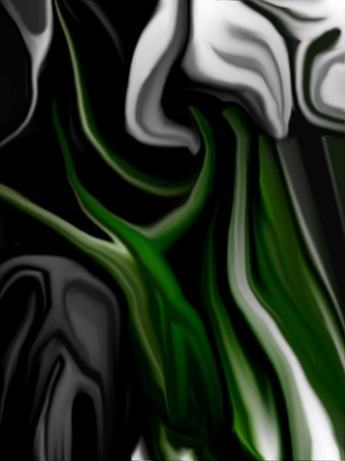 Abstract Digital Art - Abstract309h by David Lane