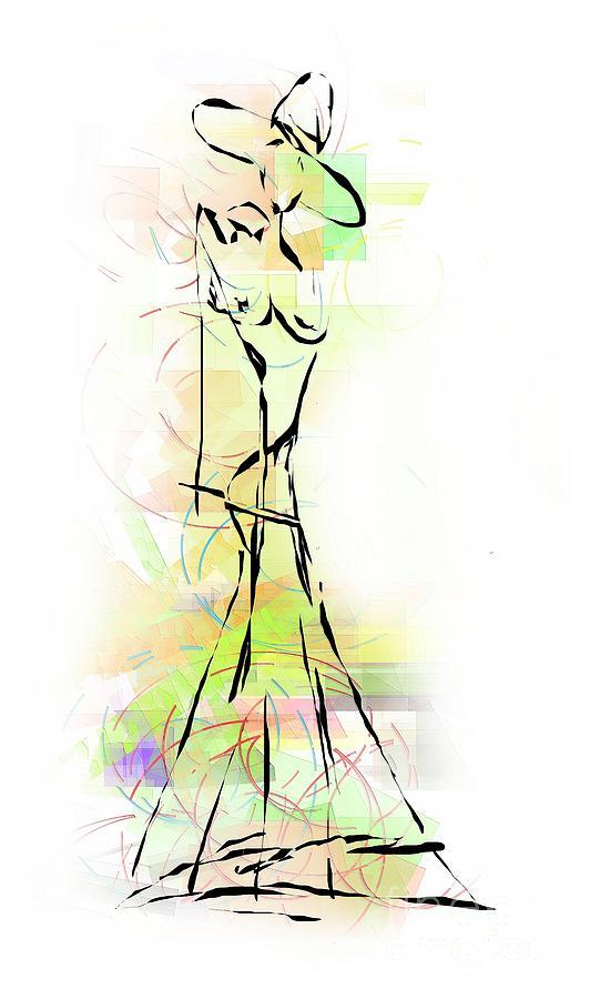 Abstraction Digital Art - Abstraction 1222 - Marucii by Marek Lutek