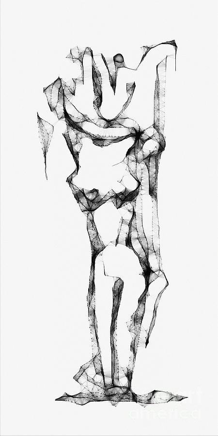 Abstraction Digital Art - Abstraction 1227 - Marucii by Marek Lutek