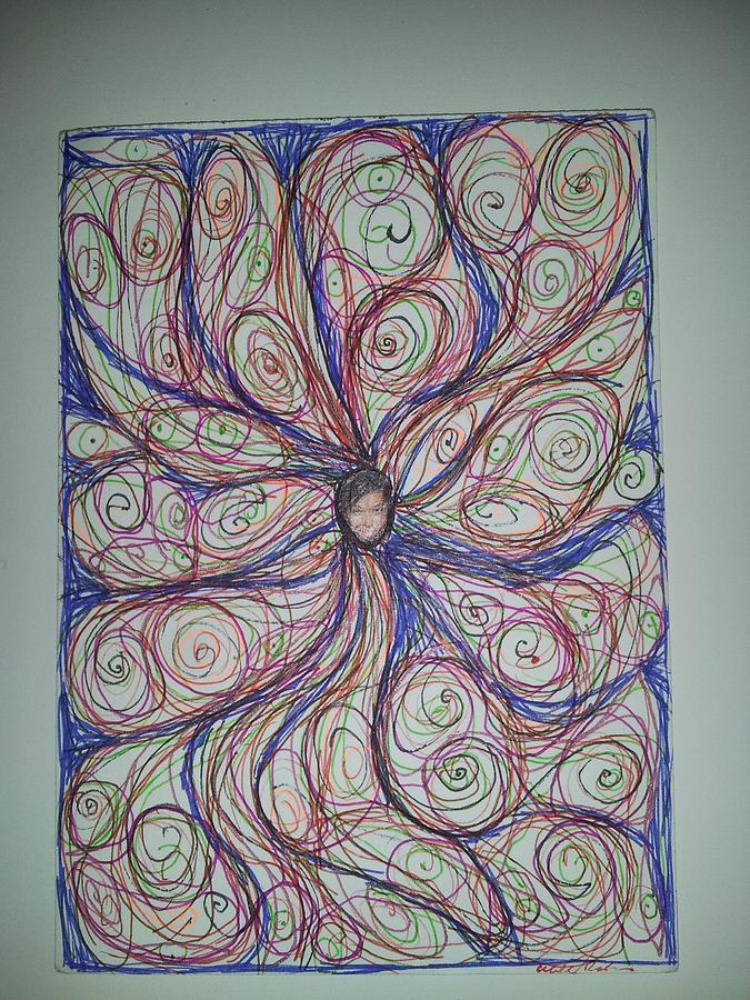 Abstraction 18 Drawing