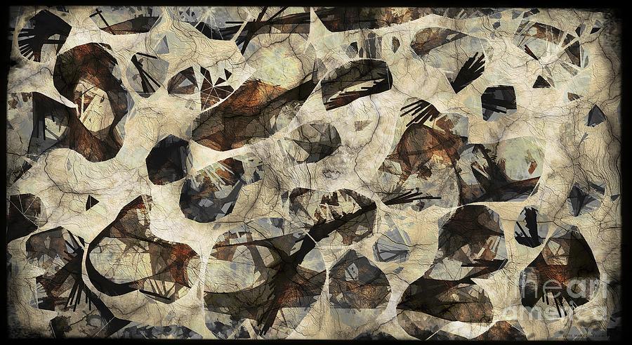Abstraction Digital Art - Abstraction 2322 by Marek Lutek