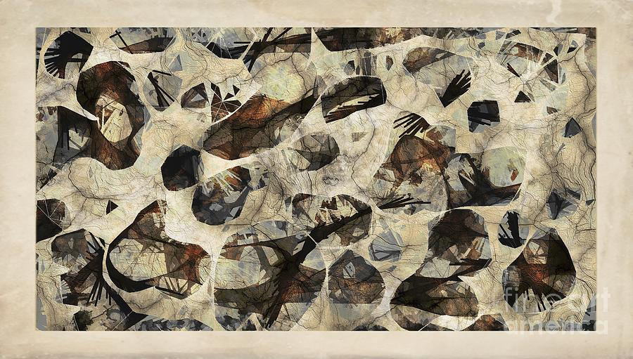 Abstraction Digital Art - Abstraction 2324 by Marek Lutek