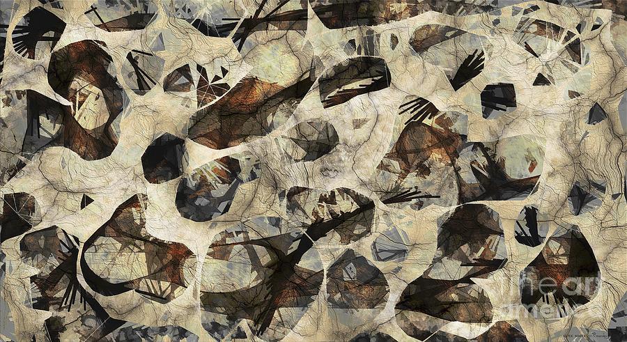 Abstraction Digital Art - Abstraction 2325 by Marek Lutek