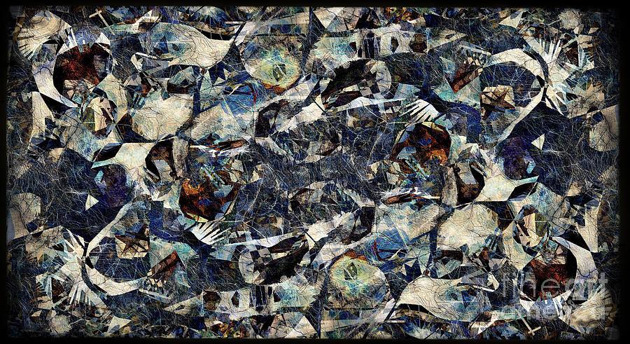 Abstraction Digital Art - Abstraction 2326 by Marek Lutek