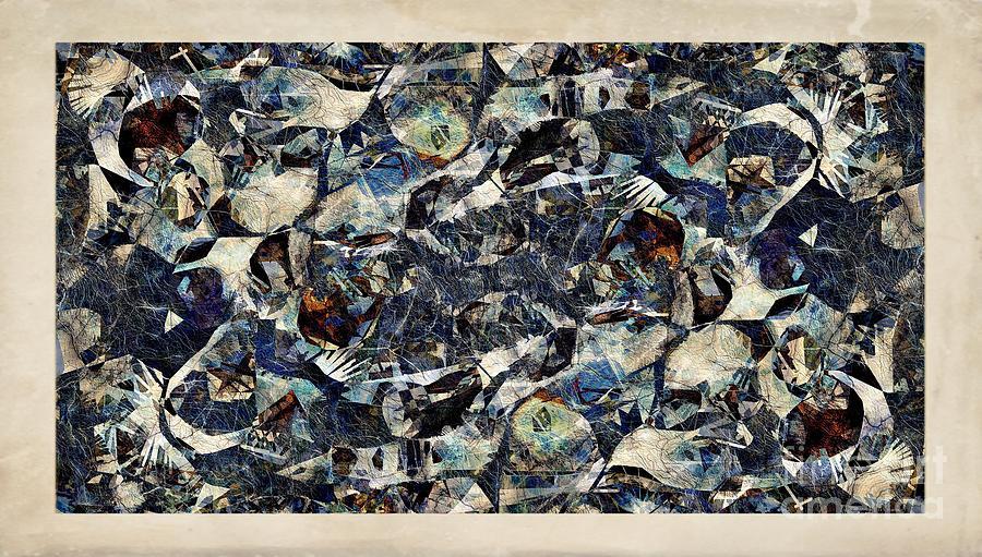 Abstraction Digital Art - Abstraction 2328 by Marek Lutek