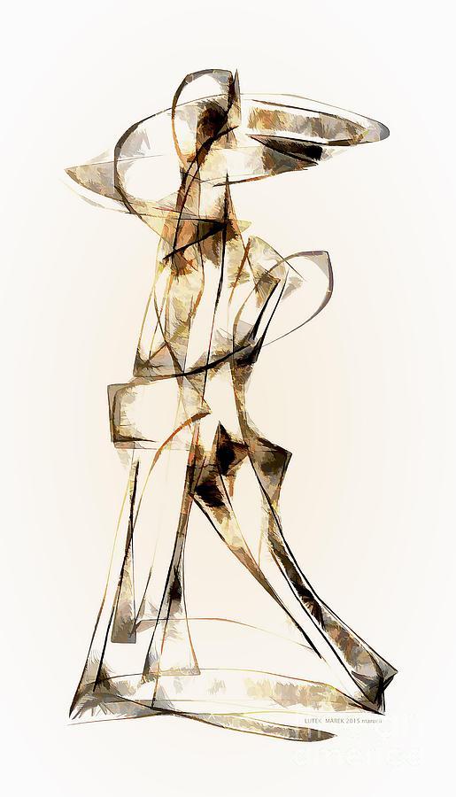 Abstraction Digital Art - Abstraction 2911 by Marek Lutek