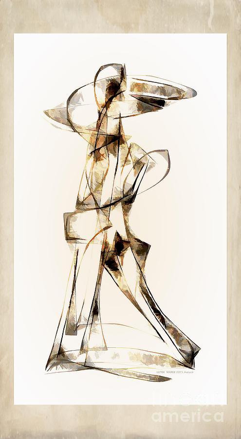 Abstraction Digital Art - Abstraction 2915 by Marek Lutek