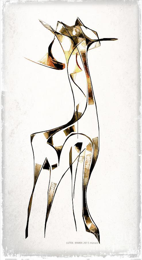 Abstraction Digital Art - Abstraction 2920 by Marek Lutek