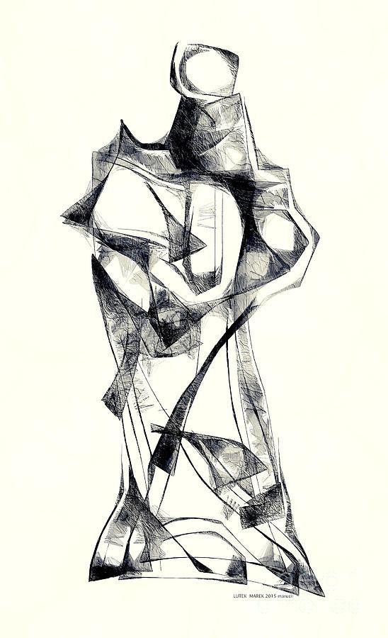 Abstraction Digital Art - Abstraction 2925 by Marek Lutek