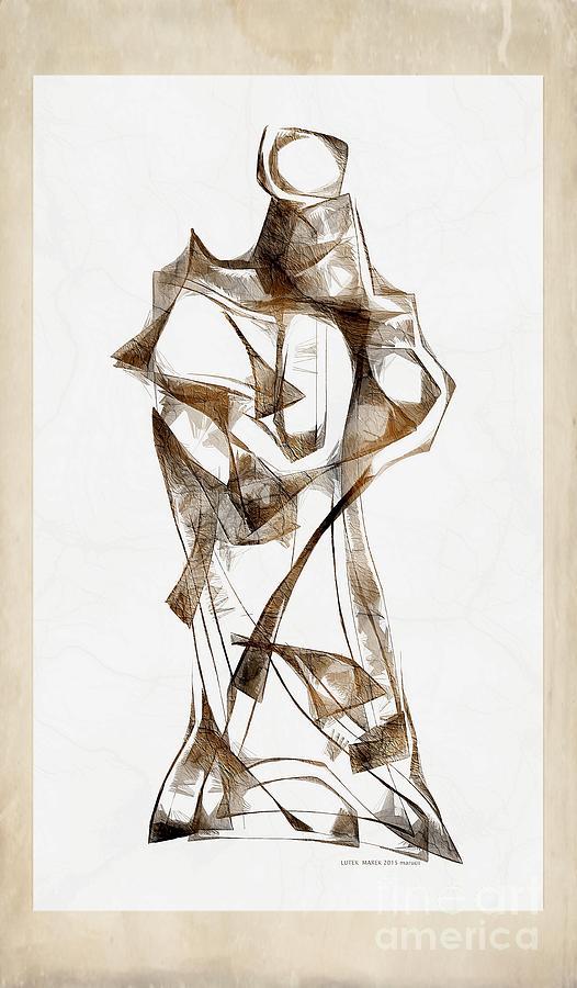 Abstraction Digital Art - Abstraction 2928 by Marek Lutek