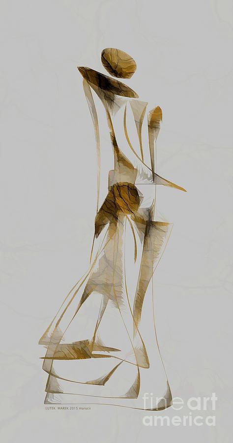 Abstraction Digital Art - Abstraction 2929 by Marek Lutek