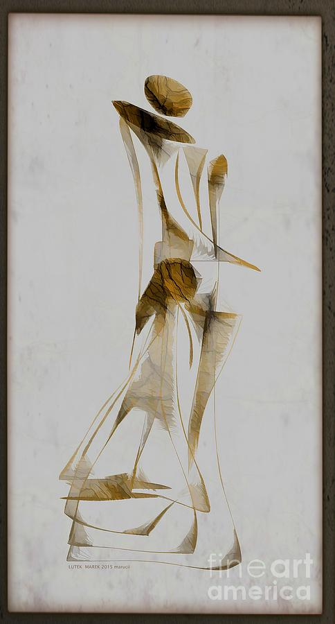 Abstraction Digital Art - Abstraction 2931 by Marek Lutek