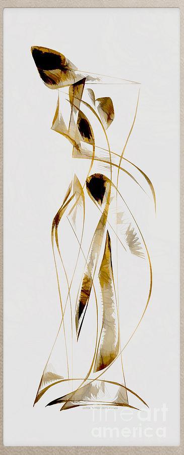 Abstraction Digital Art - Abstraction 2934 by Marek Lutek