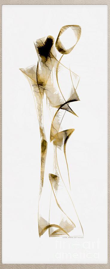 Abstraction Digital Art - Abstraction 2938 by Marek Lutek