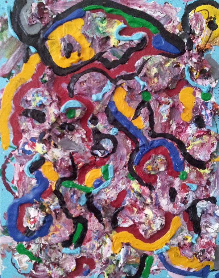 Abstraction 55 Painting