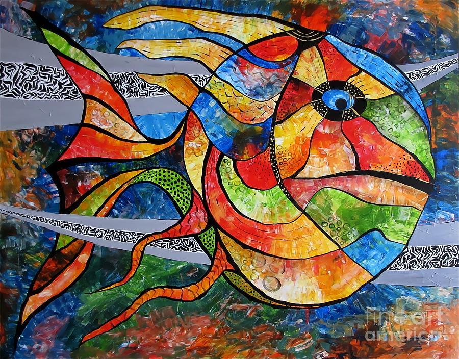 Abstraction Digital Art - Abstraction 787 - Marucii by Marek Lutek
