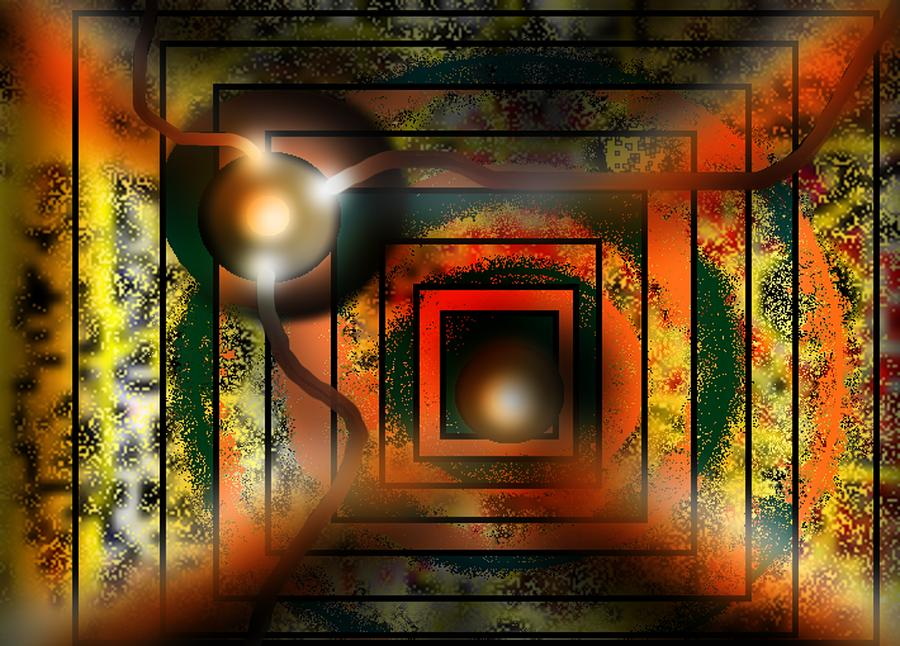 Abstraction Rr090 Digital Art by Oleg Trifonov