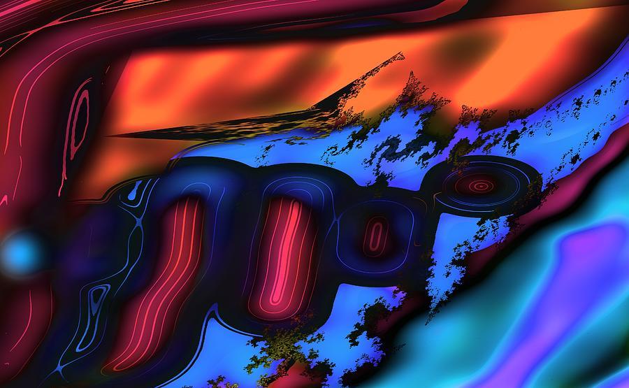 Abstraction Sri 354 Digital Art by Oleg Trifonov