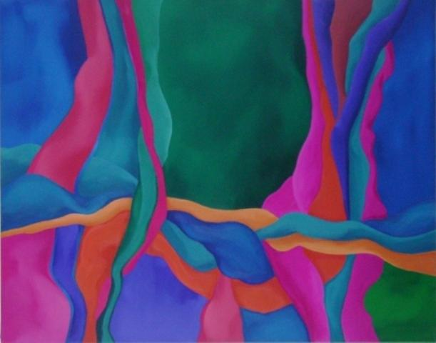 Abstracto 22 Painting by Nicolau Campos