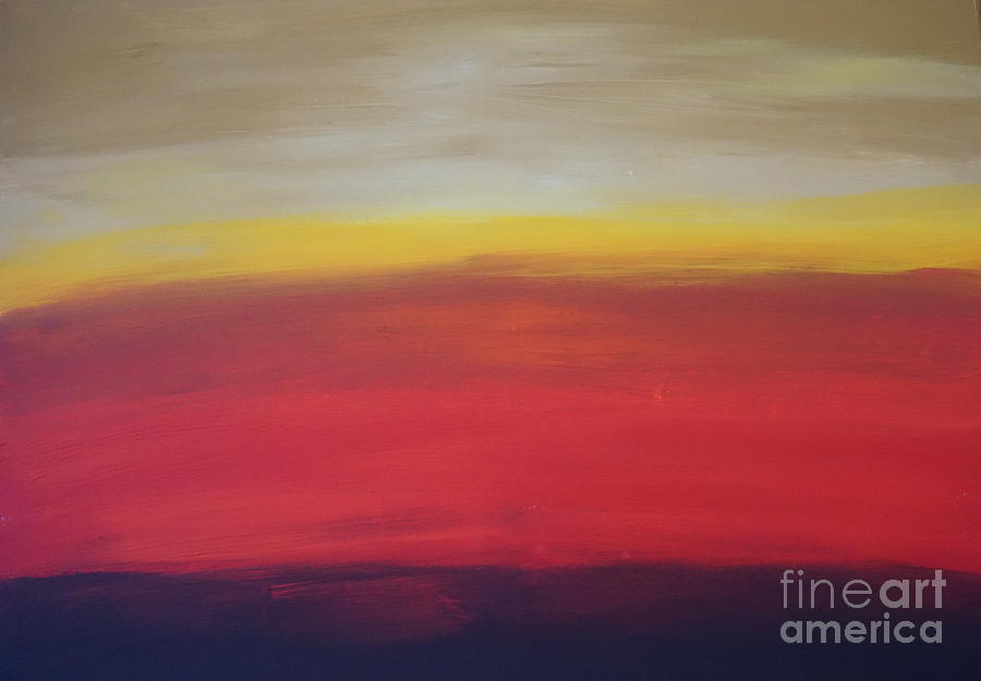 Abstract_sunset by Jimmy Clark