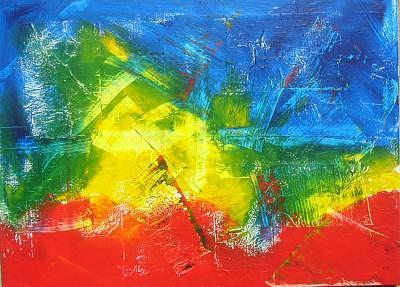 Abstrakt Painting by Eridanus Sellen