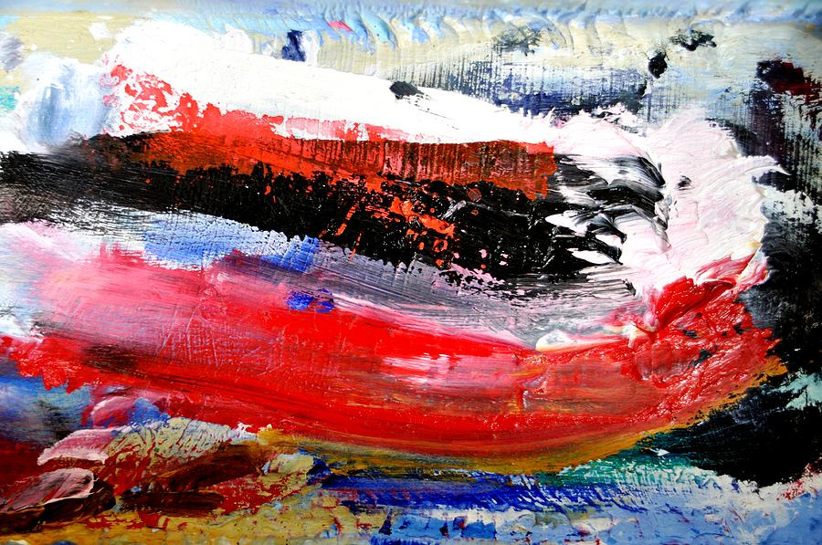 Abstract Painting - Abstraktes Bild 25 by Eckhard Besuden