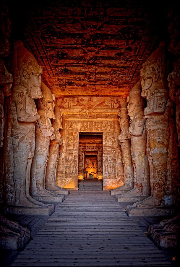 Abu Simbel Great Temple by Nigel Fletcher-Jones