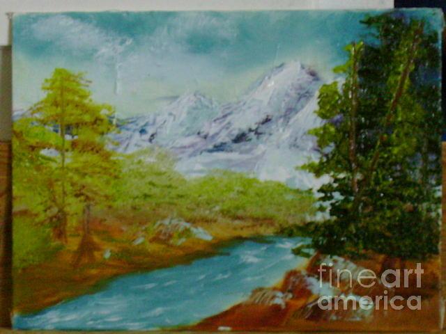 Landscape Painting - Abundance by Laura J Catron