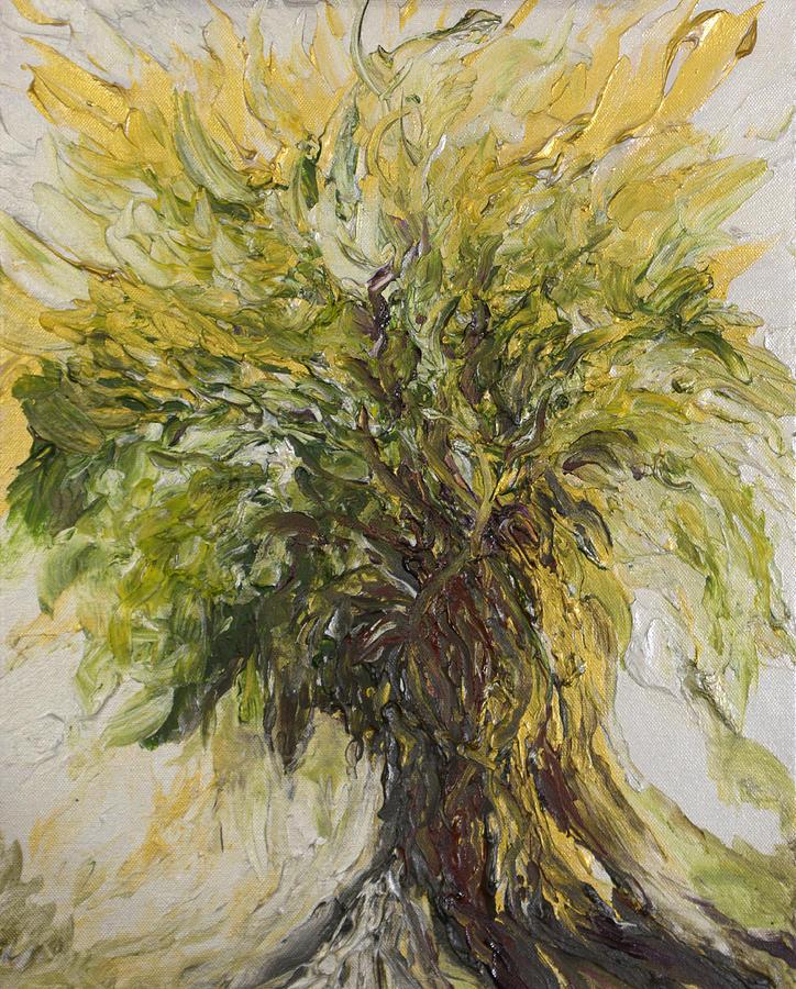 Abundance Painting - Abundance Tree by Michelle Pier