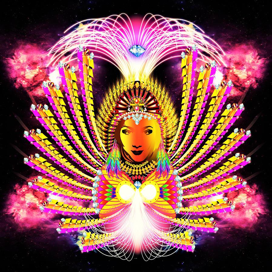 Light Digital Art - Abundantia by The Awakening Art